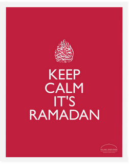 keep calm its ramadan-red#2