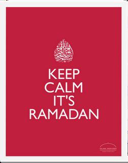 keep calm its ramadan-red#2