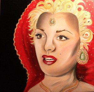 Marilyn Mughal Queen
