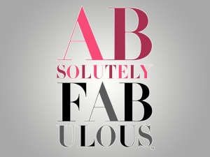 Absolutely Fabulous: logo BBC/Lionheart Source: Warner Home Video Direct